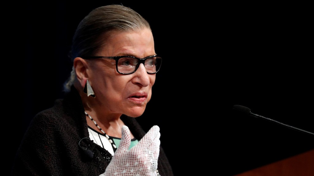 Ruth Bader Ginsburg to lie in repose at the Supreme Court this week