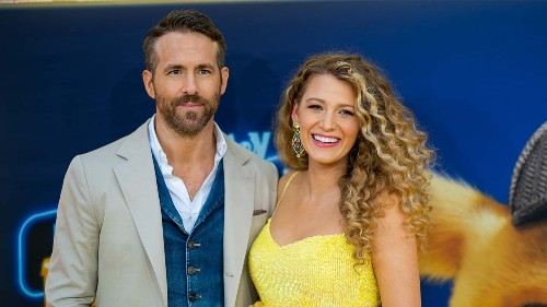Ryan Reynolds shares first photo of third child with Blake Lively, reveals sex of baby