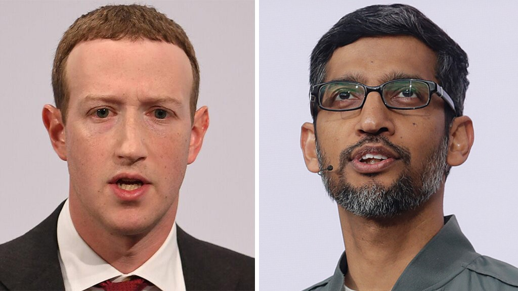 Here's how Facebook and Google plan to defend themselves during Wednesday's Big Tech hearing