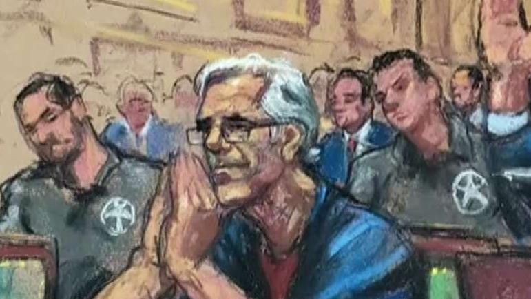 Bill Clinton painting in Jeffrey Epstein's home a 'surprise' to woman who painted president wearing blue dress