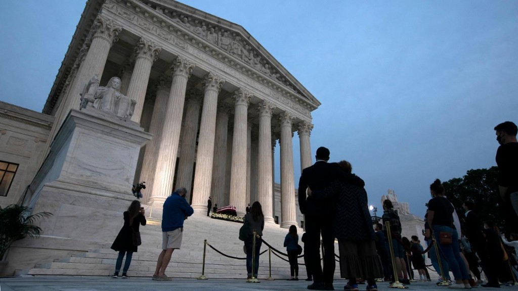 Live Updates: Supreme Court fight heats up after Ruth Bader Ginsburg's death