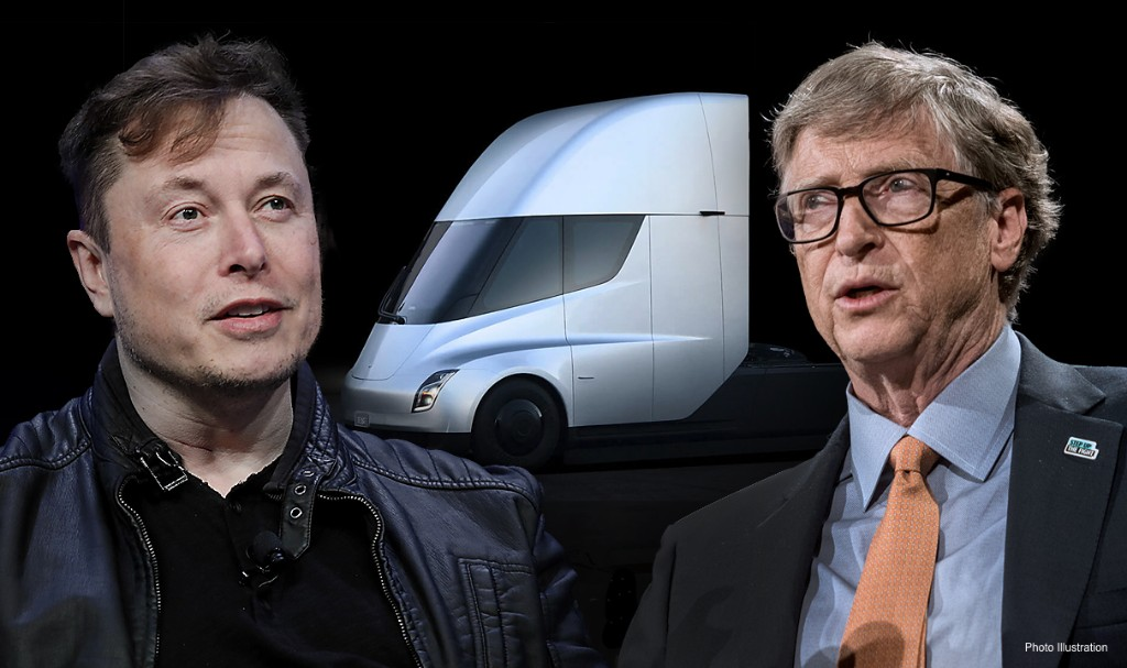 Musk fires back at Gates, says he has 'no clue' about powering electric trucks