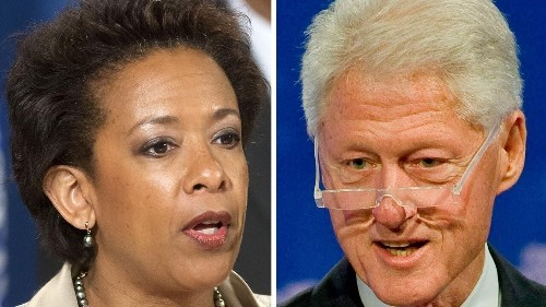 New book reveals explosive details about Loretta Lynch-Bill Clinton tarmac meeting
