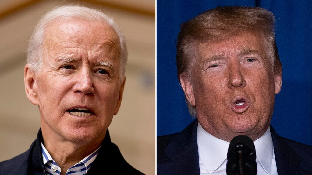 Trump says he would 'absolutely' have a call with Biden to discuss coronavirus response strategy