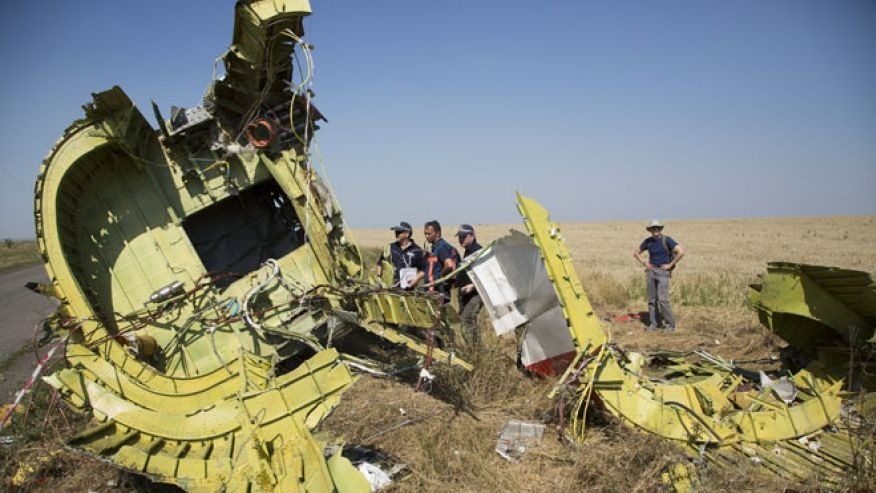 More human remains recovered at Ukraine plane crash site