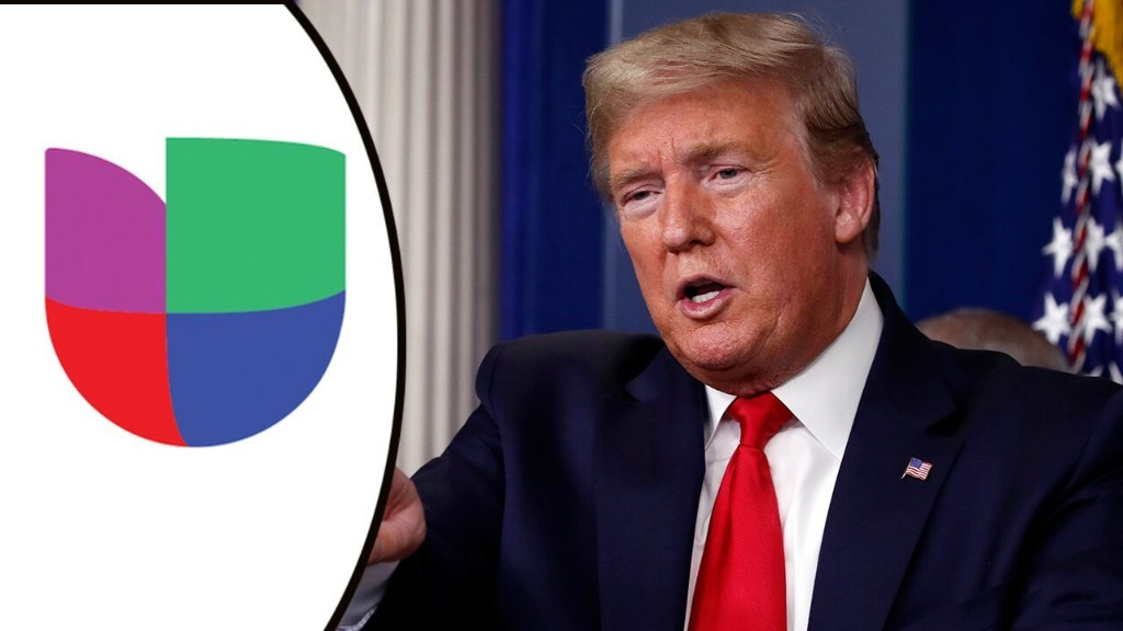 Trump campaign slams Univision as 'MSNBC en Español,' accuses network of deceptive coverage of Mt Rushmore speech