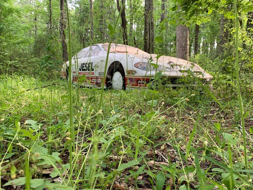 Dale Earnhardt Jr. finds lost vintage car in his 'Racecar Graveyard' after searching for a year