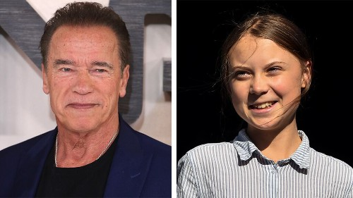 Arnold Schwarzenegger rides bikes with Greta Thunberg: She's 'one of my heroes'