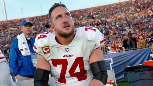 San Francisco 49ers' Joe Staley shares hilarious sign daughter made dissing NFL teams
