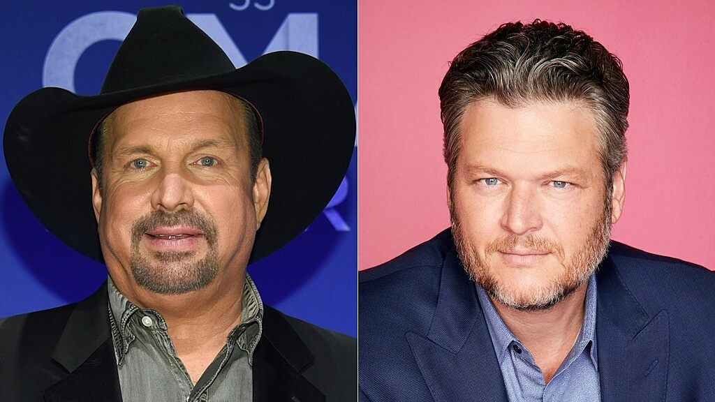 Blake Shelton reacts to Garth Brooks' CMA 'Entertainer of the Year' controversy