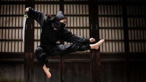 Japanese ninja student gets top grade for 'blank' essay written using secret technique