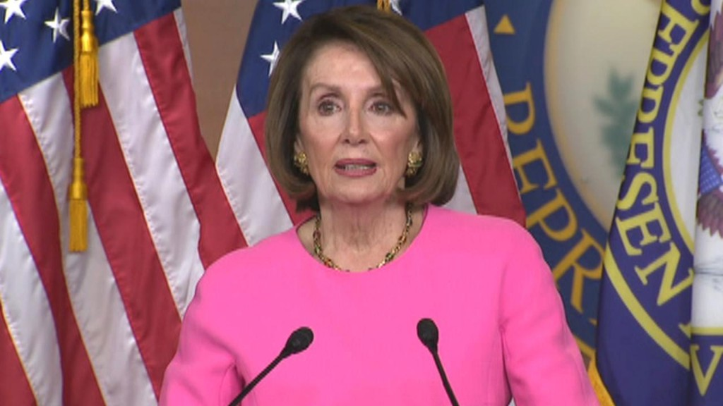 Pelosi urges Trump aides, family to stage an 'intervention' for the 'good of the country'