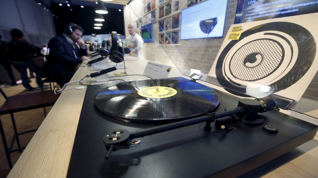 Vinyl record revolution spins on