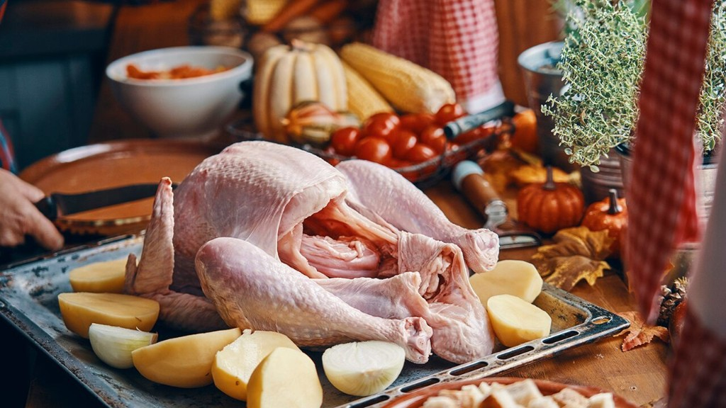Tips on staying safe while cooking a Thanksgiving dinner this year