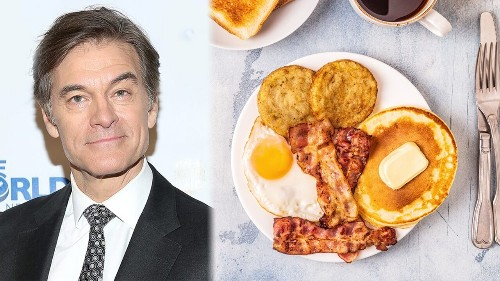 Dr. Oz thinks we should 'cancel' breakfast in 2020, says it's a 'ploy'