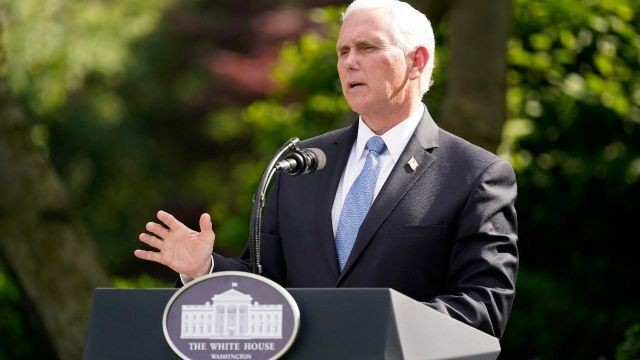 Pence thanks Americans for staying socially distant
