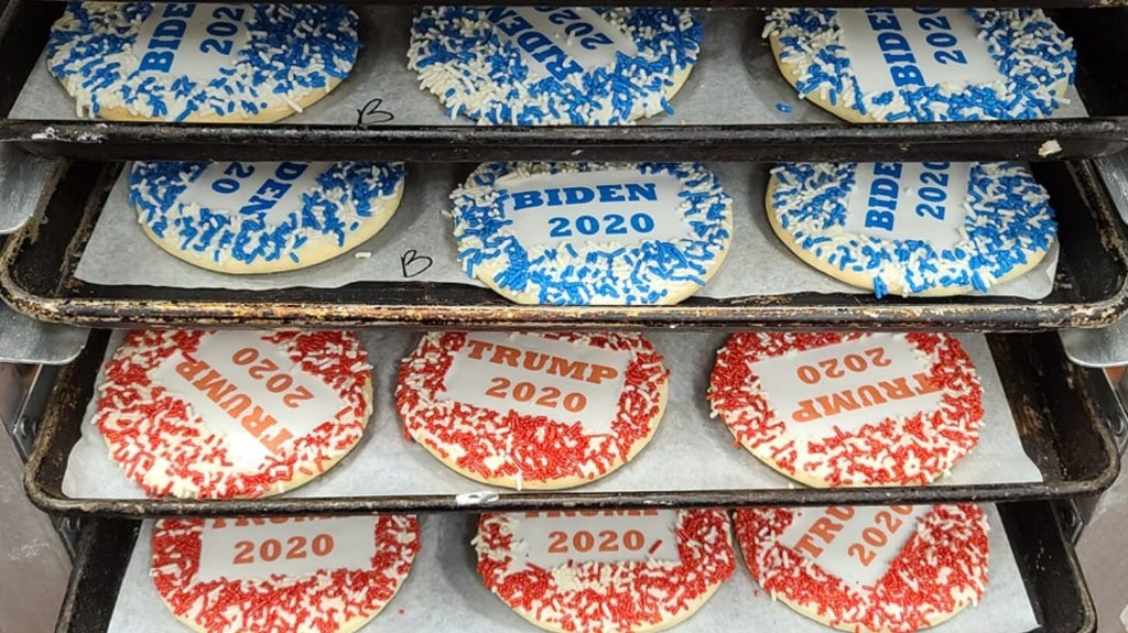 Bakery's 'cookie poll' is now showing clear frontrunner