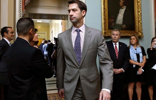Cotton says media was 'Stalin-like' in Ocasio-Cortez Green Deal cover up