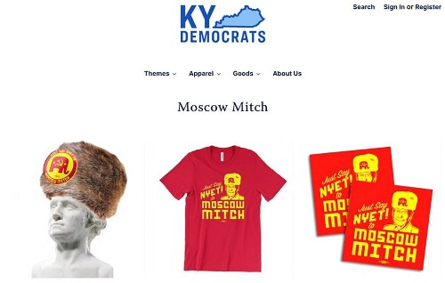 'Moscow Mitch' merchandise sales top $200,000 in 48 hours, Kentucky Dems say