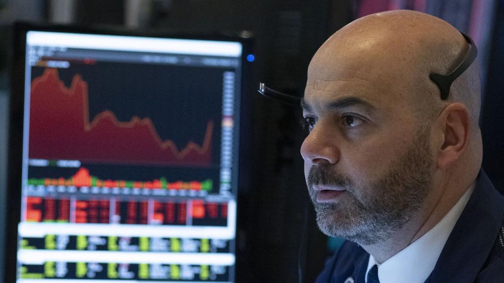 Stocks fall but curb heavy losses as coronavirus bill toils on Capitol Hill