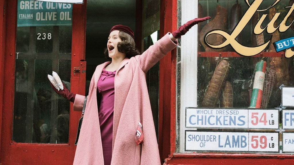 Amazon sued over 'Marvelous Mrs. Maisel'; Author claims show copied book