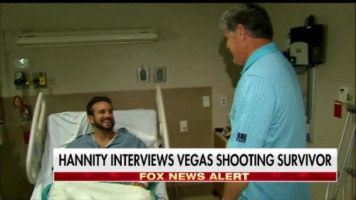 Las Vegas Attack Victim Who Stood for Trumps: 'I Just Wanted to Show Them Respect'