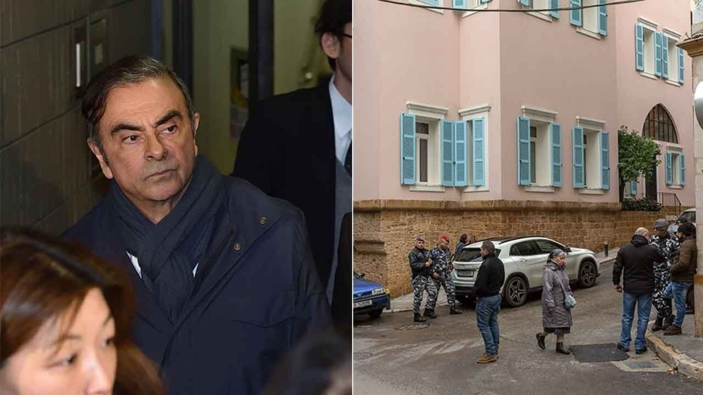Carlos Ghosn after planning escape, now plots a press conference