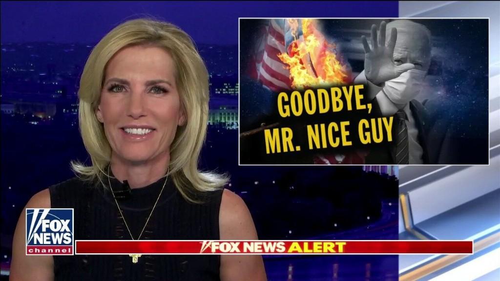 Laura Ingraham: Biden's 'nice guy' image is the 'Trojan horse' the far left needs