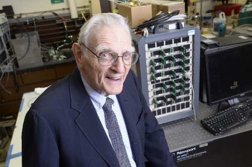 Lithium-ion battery inventor touts new battery breakthrough
