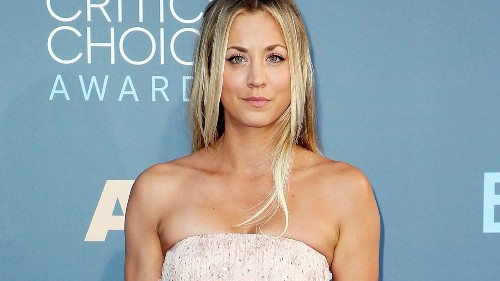 'Big Bang Theory' star Kaley Cuoco says she'd 'be fine' if husband Karl Cook walked out