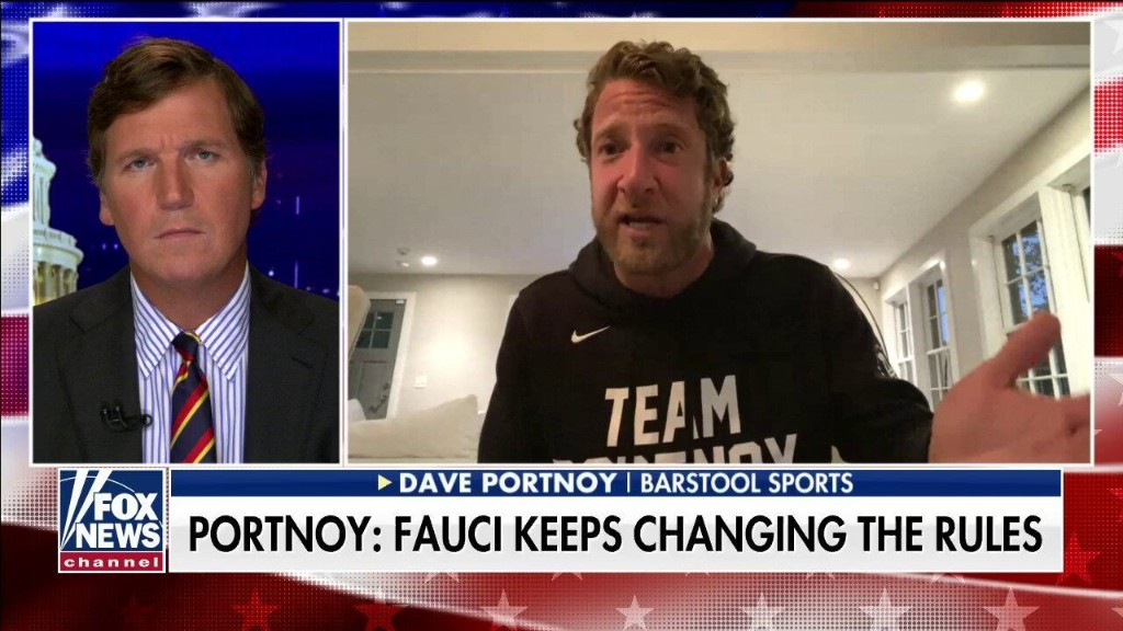 Barstool Sports founder Portnoy says 'I don't trust' Fauci: 'He's on different sides depending on the day'