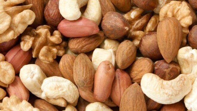 Regular nibbling on nuts linked to low inflammation
