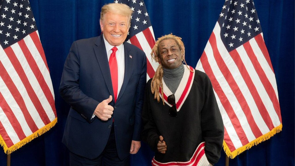 Lil Wayne reveals 'great meeting' with Trump, prompting Twitter users to respond