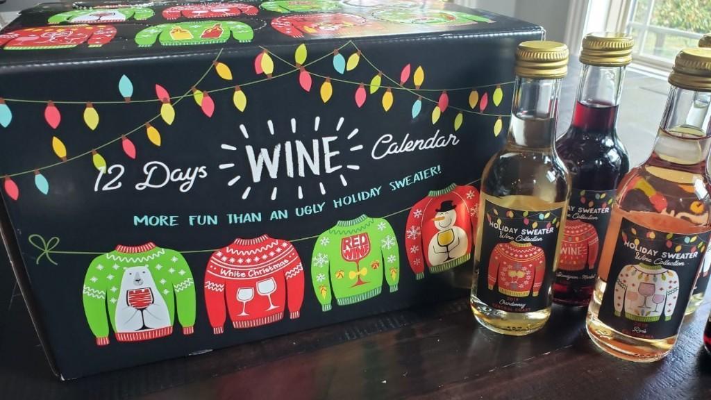Sam's Club selling '12 Days of Wine' calendar ahead of Christmas season