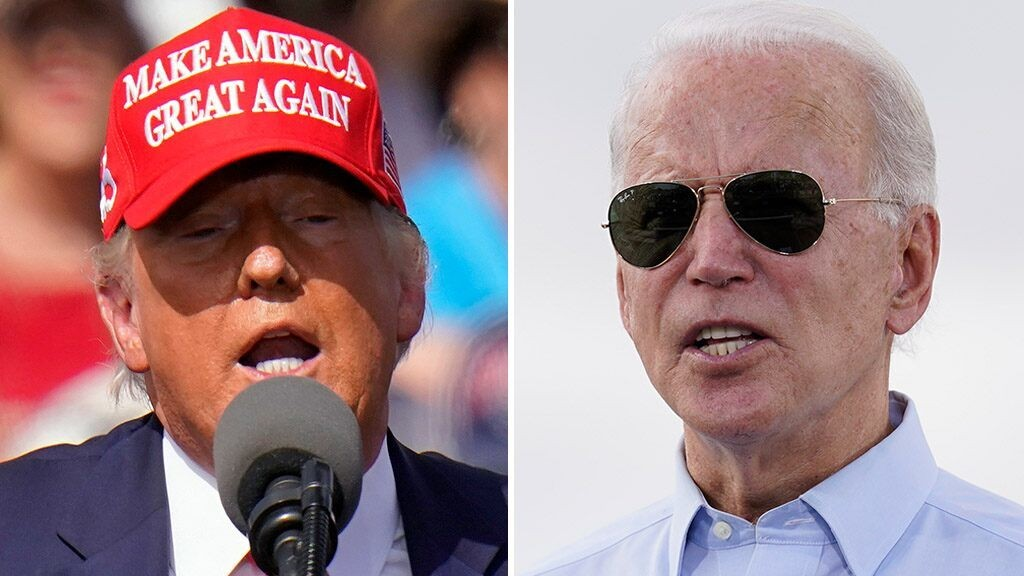 Biden and Trump hold dueling rallies in battleground Minnesota Friday