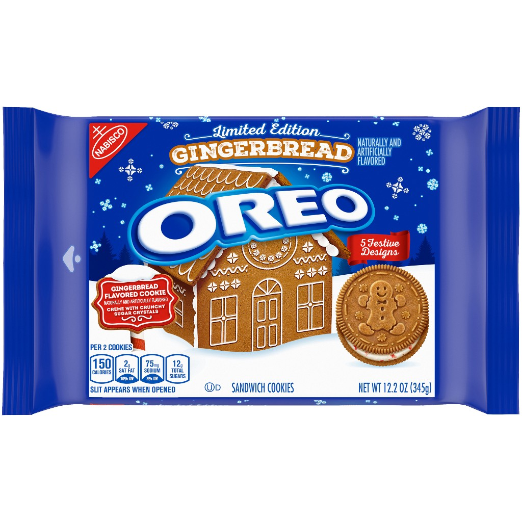 Oreo releases 'first-ever' gingerbread-flavored cookie for holiday season