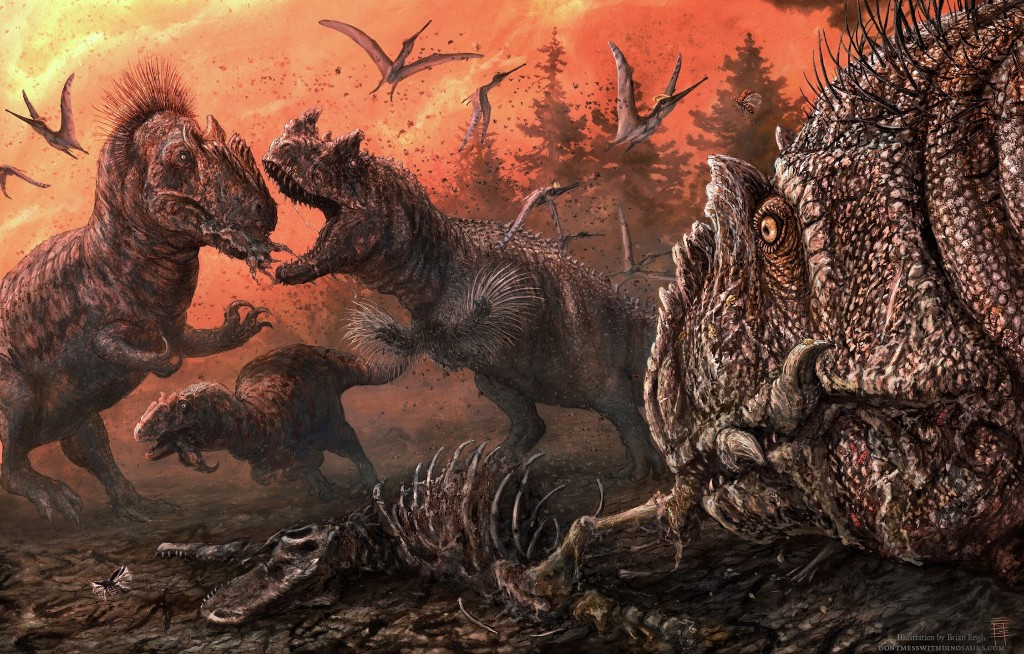 Dinosaurs may have turned to cannibalism in hard times, study shows