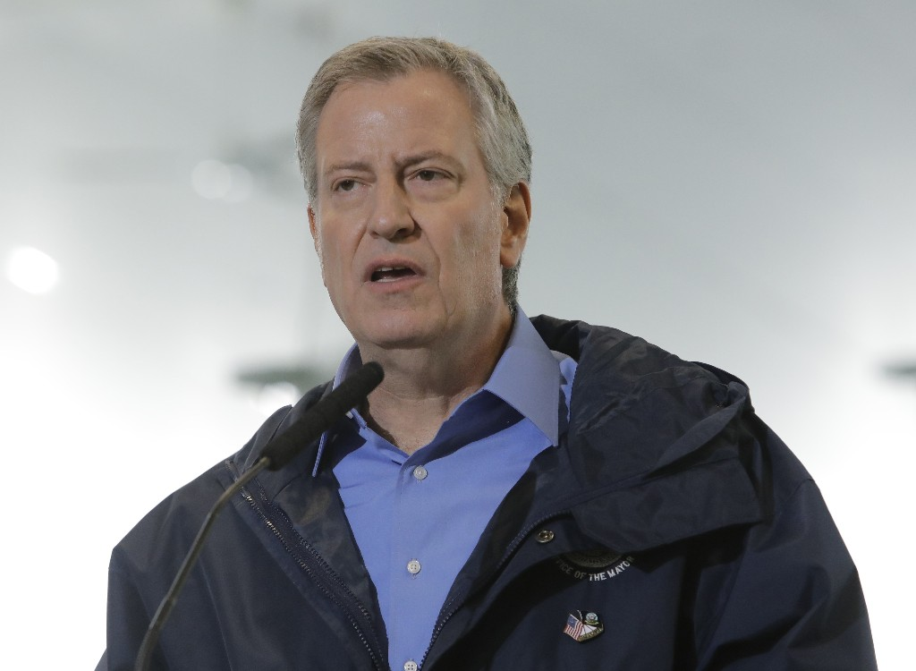 De Blasio downplays 'anarchist, criminal' elements of protests, says majority of NYC wasn't looted