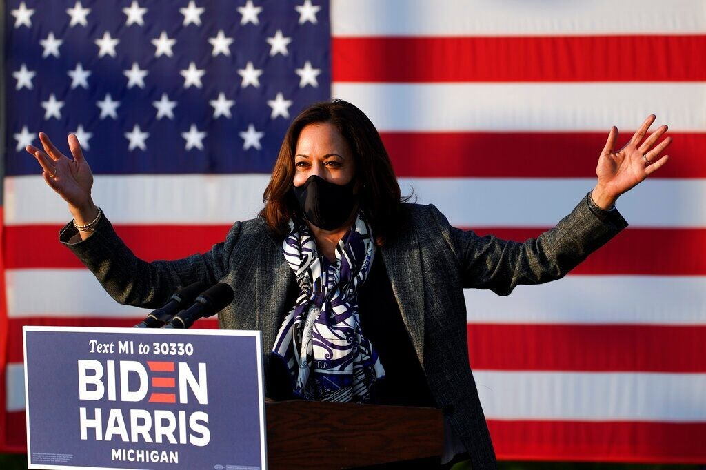 Harris makes misleading statement on COVID-19 business loans while campaigning in Michigan