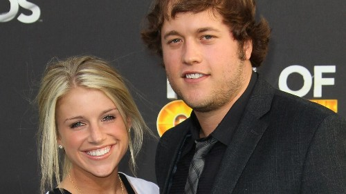 Detroit Lions' Matthew Stafford, wife stun brothers with Christmas surprise