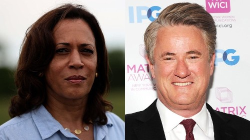 Scarborough goes after Kamala Harris for pushing Kavanaugh impeachment despite badly 'botched' NYT story