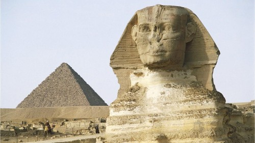 Stunning sphinx discovery: Workers make incredible find while fixing road