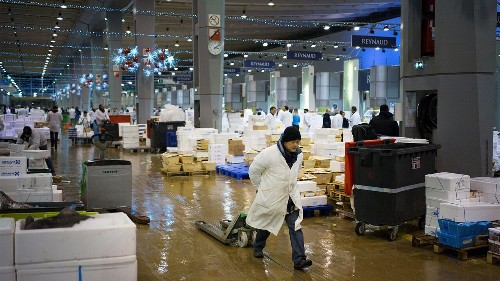 France converts part of world's largest wholesale food market into temporary morgue amid coronavirus pandemic