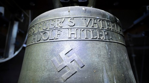 German town votes to keep controversial bell devoted to Hitler