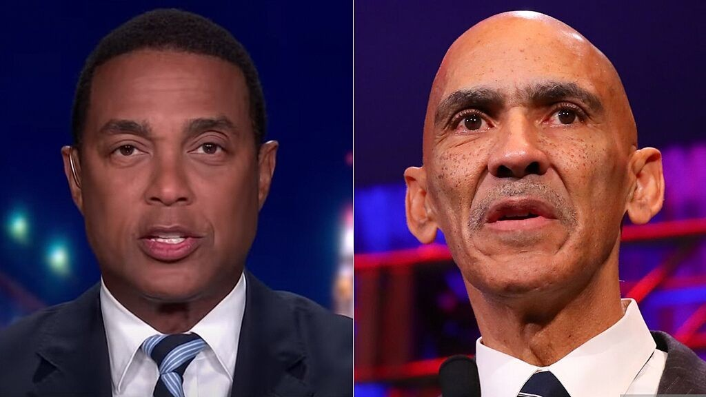 NFL legend Tony Dungy says nobody who 'believes the Bible' would agree with CNN host Don Lemon