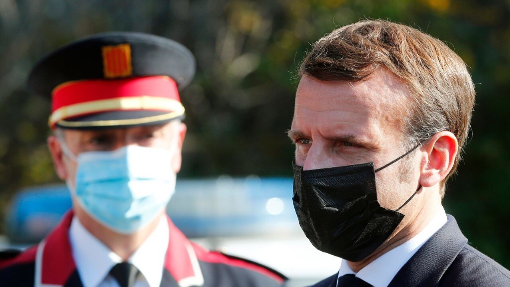 France's Macron vows to crackdown on illegal immigration to counter 'terrorist threat'
