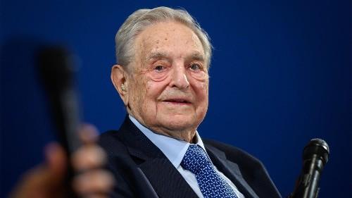 Soros, at Davos, calls Trump 'a con man and narcissist,' pushes $1B university network