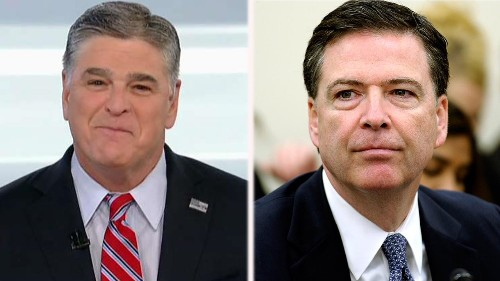 SEAN HANNITY: Comey wouldn't know a real mob boss if he investigated one for an illegal server