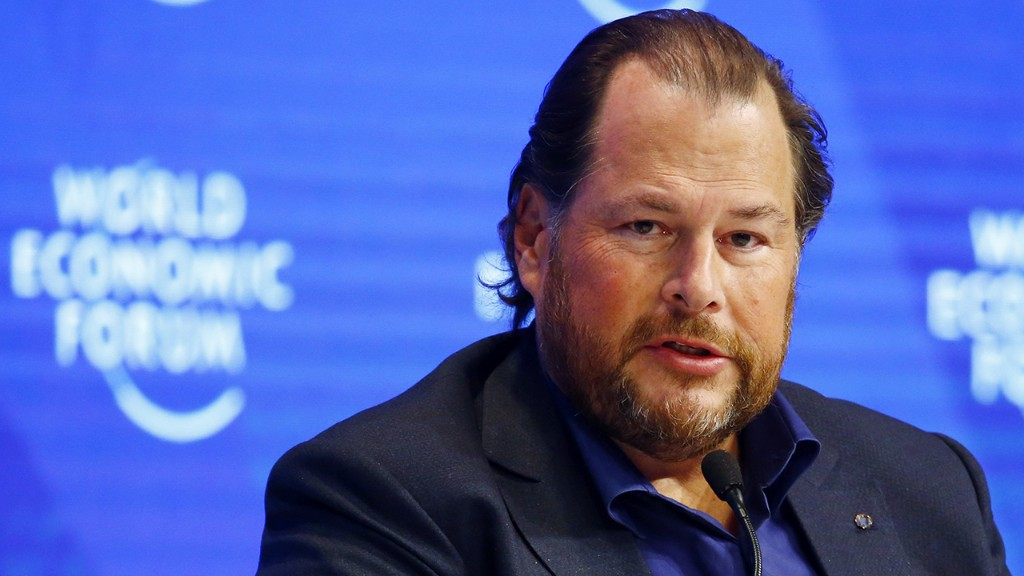 Information technology can combat coronavirus, get employees back to work: Salesforce CEO