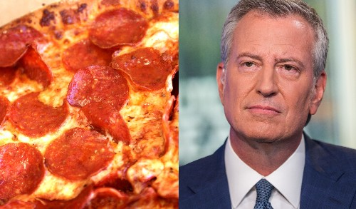 Domino's gets ripped by de Blasio over $30 New Year's Eve pizzas
